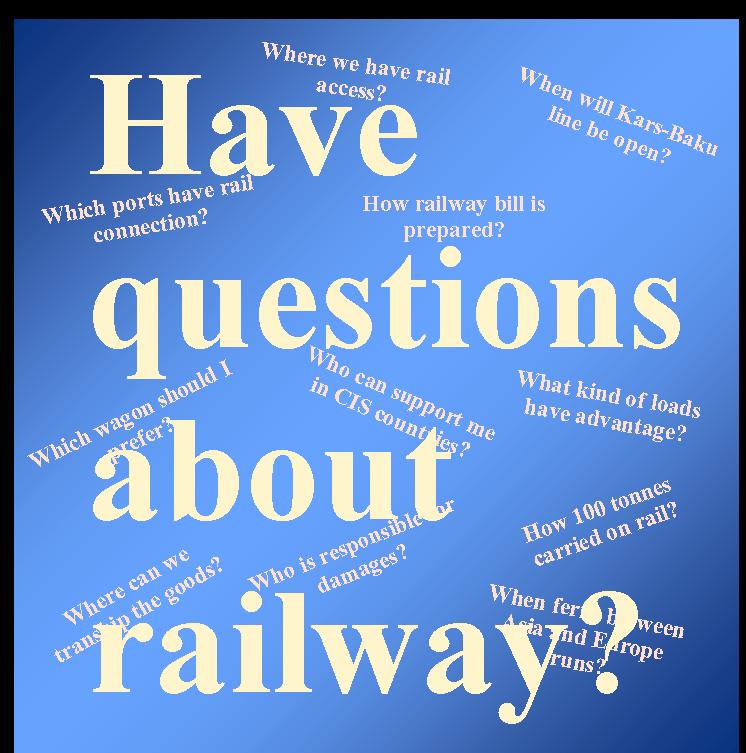 5W1H of Railway