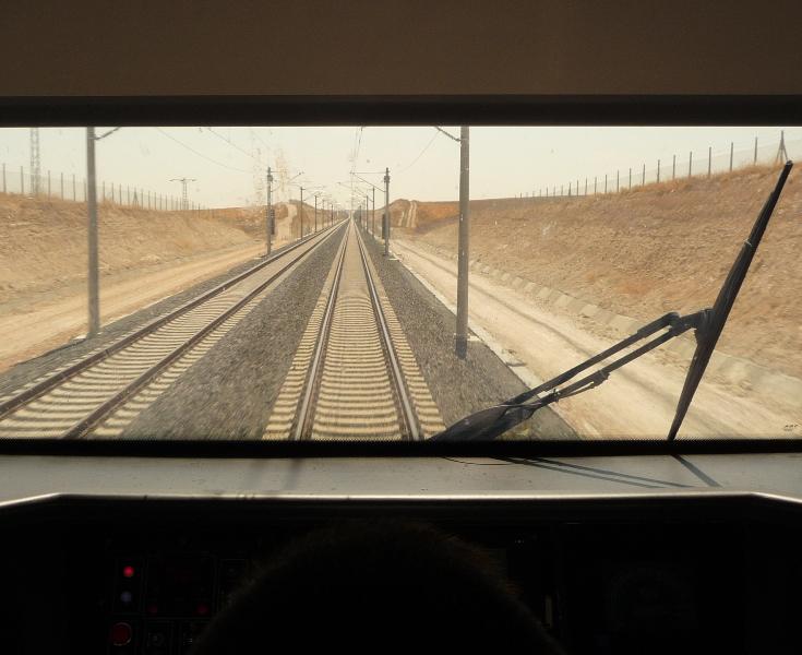 Konya High Speed Train Test